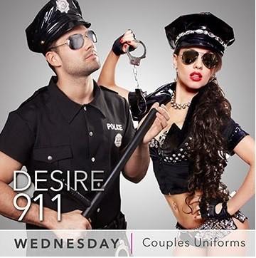 Desire Resort Theme Night Wednesday Couples & Uniforms