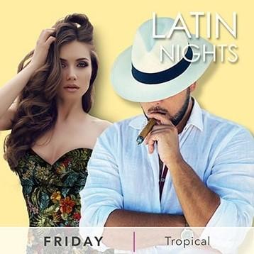 Desire Resort Friday Latin Nights Tropical Theme
