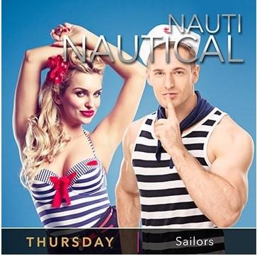 Desire Resort Theme Night Thursday Nauti Nautical